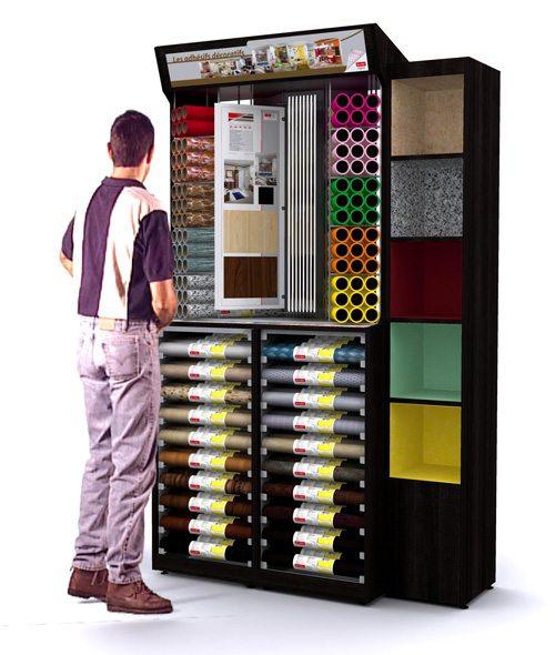 meuble pour adh sifs d co lac direct. Black Bedroom Furniture Sets. Home Design Ideas