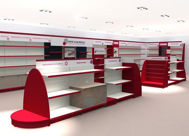 conception agencement pharmacie et boutique sant233