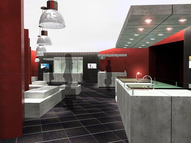 agencement de showrooms lac direct. Black Bedroom Furniture Sets. Home Design Ideas