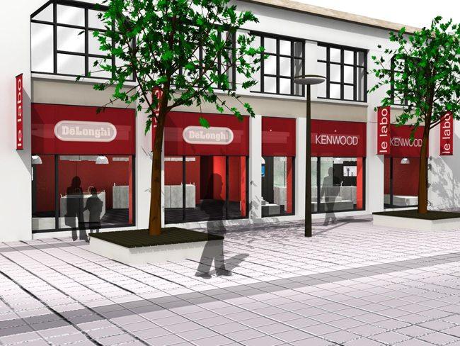 facade show-room