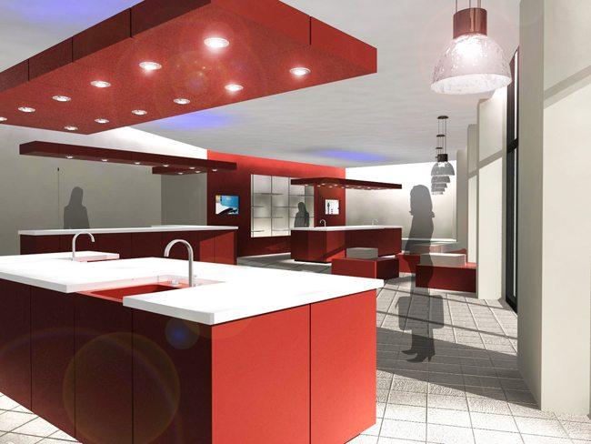 Laboratoire de test produits - Conception 3D et agencement