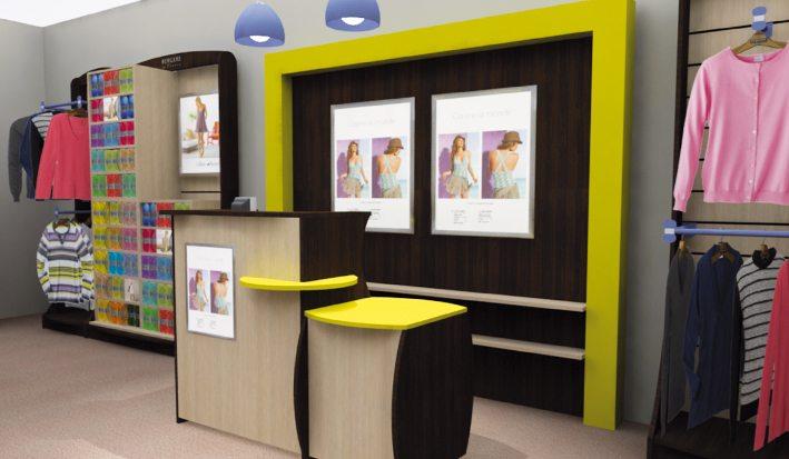 agencer une boutique de pr t porter. Black Bedroom Furniture Sets. Home Design Ideas