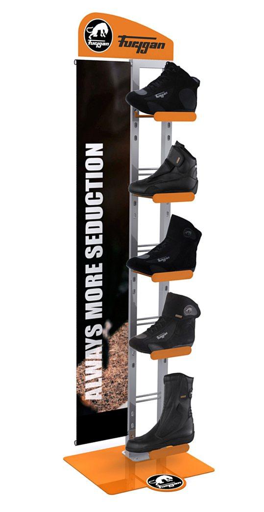 pr sentoir chaussures de sport lac direct. Black Bedroom Furniture Sets. Home Design Ideas
