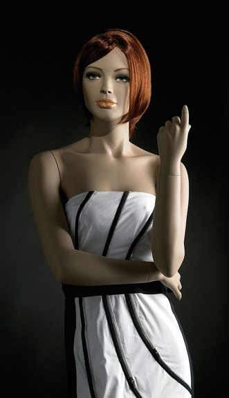 mannequin couture femme
