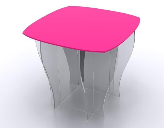table de presentation