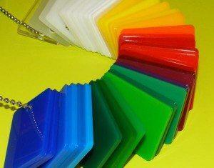 PMMA couleurs