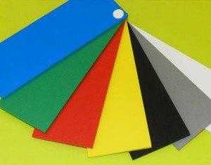 PVC expansé 7 couleurs