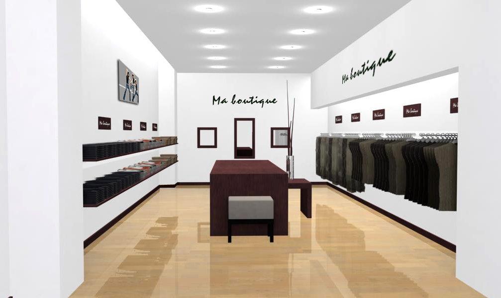 exemples d 39 agencement pour boutiques de pr t porter. Black Bedroom Furniture Sets. Home Design Ideas