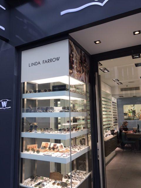 habillage de magasin opticien en region parisienne