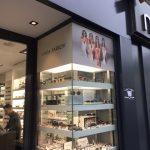 habillage de vitrine pour une boutique de lunettes